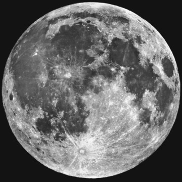 There was a full moon last night…