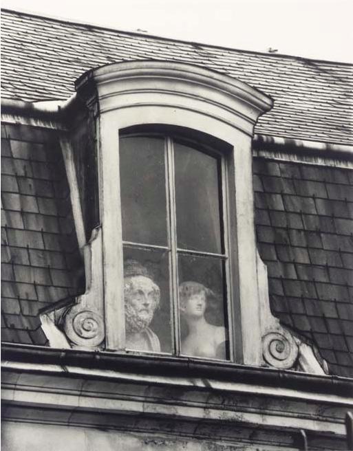 André Kertész, Window, Paris,1928