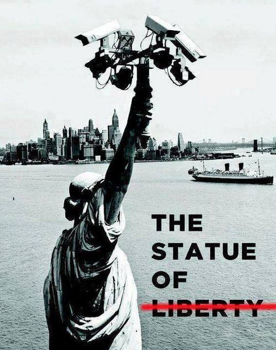 the statue of neo-liberty...