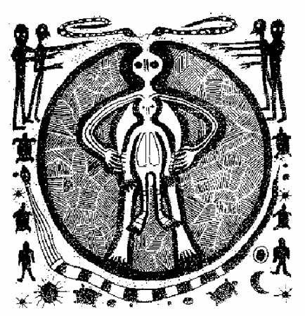 Kitab-ı Nihil - Cengiz Erdem (ancient alien – a drawing found in Italy)