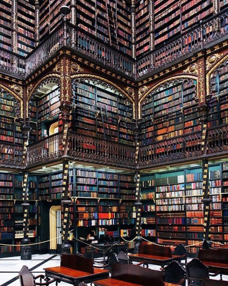Cabinet of Reading in Rio de Janeiro